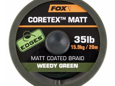 Fox Coretex Matt Edges Weedy Green