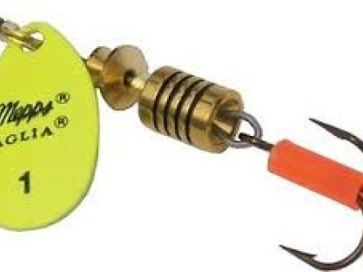 Mepps Spinner Aglio Fluo chartreuse