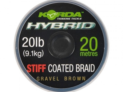 Korda Hybrid Stiff Coated Braid 20lb-9,1Kg